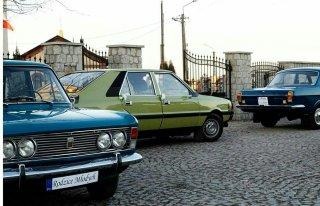 """Wołga Gaz 24 z ambasady Fiat 125p 1300 Polonez Borewicz """"Ochódzki"""" Łódź"""