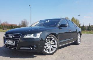 Piękne czarne Audi A8 Limuzyna - Garwolin Garwolin