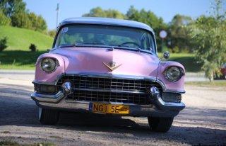 Cadillac z 1955 r. Wyjątkowe auto do ślubu! Ryn