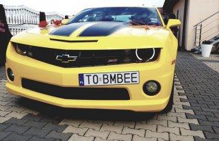 Chevrolet Camaro Transformers Bumblebee Kielce