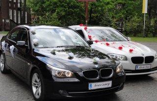 Samochód do ślubu BMW E60/F10 Poznań