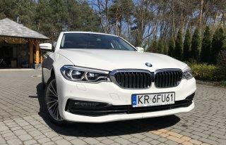 BMW G30 białe  Tarnów