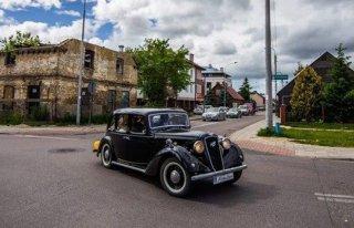 Auta do ślubu, Stylowy Austin Six z 1936r. Oraz komfortowe Mitsubishi. Białystok