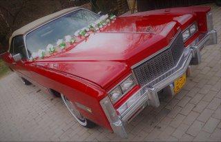 Cadillac Eldorado na ślub- Szczecin Szczecin