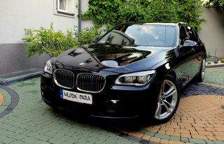 Wynajmę BMW 740Li extra wyposażenie! Symboliczny przebieg 2016 LONG Białystok
