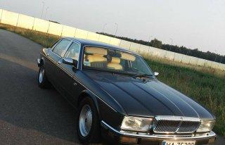 Auto do ślubu Jaguar Daimler Nowogard