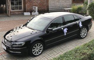 Luksusowa limuzyna auto do ślubu i nie tylko VW PHAETON nie audi bmw Wejherowo