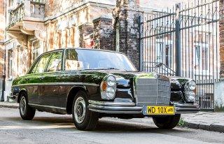 Zabytkowy Mercedes W108 do ślubu Warszawa