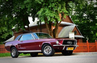 Mustang 1967 do ślubu Krosno