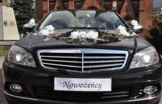 Auto do ślubu Mercedes C200 z kierowcą  Warszawa