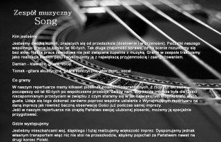 Zespół muzyczny Song Ruda Śląska
