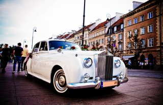 Rolls-Royce Silver Cloud, Bentley S2, Austin Princess, kabriolet  Warszawa