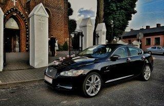 Jaguar XF - auto do ślubu, limuzyna na wesele  Łódź