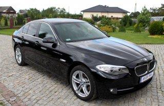 BMW 520 F10 auto samochód do ślubu Toruń Bydgoszcz i okolice Pigża