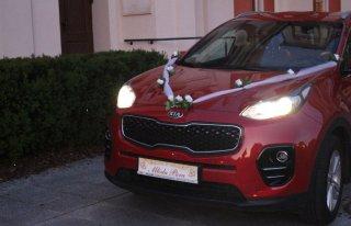Kia Sportage poleca się jako auto do ślubu Poznań