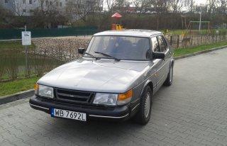 Saab 900 1991r Warszawa