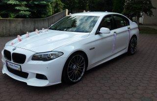 BMW 5 Śnieżno BIAŁA Śluby wesela imprezy Częstochowa Śląsk 20 cali Częstochowa