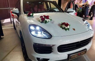 PORSCHE CAYENNE III 2016 czerwona skóra LUX, przeszklony dach!!!BMWX6 opole