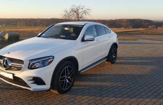 Mercedes GLC COUPE idealne auto do ślubu. Konin